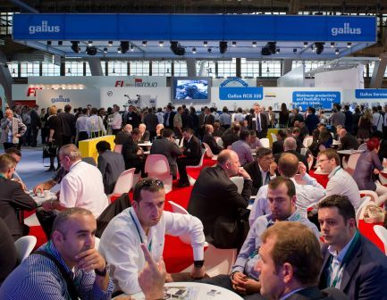 Indians, busy at Labelexpo Europe 2011