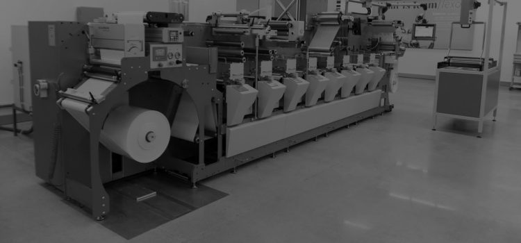 Narrow Web Label Presses, Made in India